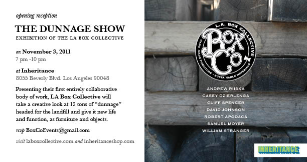 The Dunnage Show at Inheritance