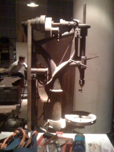 Check out this drill press.  It's a work of art!